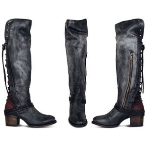 Freebird lace-up leather boots, SO GORGEOUS!